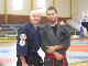 Sensei Andy & Roberto enjoy the training.