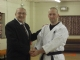 Proffessor David Hodgson Wishes Sensei Scott Webster all the best.